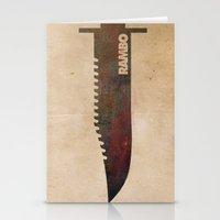 Rambo Stationery Cards