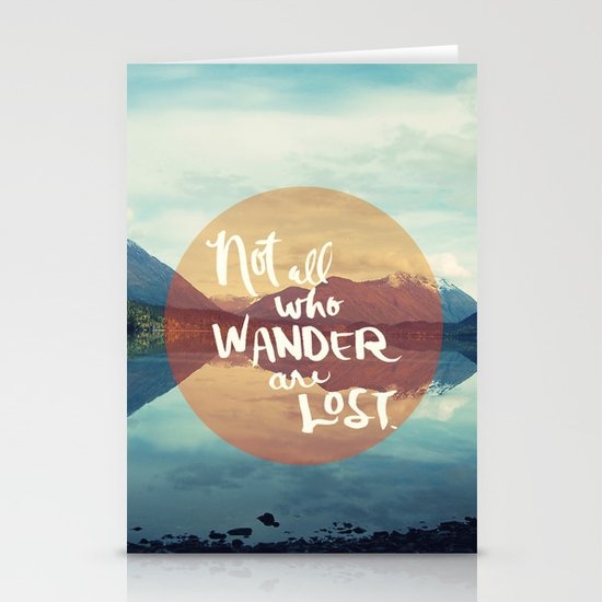 Wander II Stationery Card