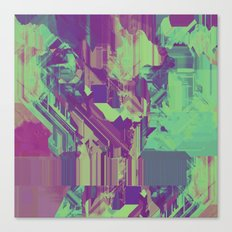 Glitchy 1 Canvas Print