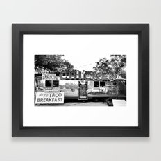 SoCo Chicken Trailer Framed Art Print