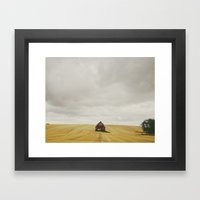 Idaho Barn Framed Art Print