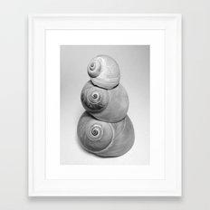 Shell Tower Framed Art Print