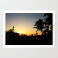 Just another day in paradise! Art Print