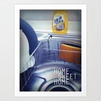 HOME SWEET HOME SERIES -… Art Print