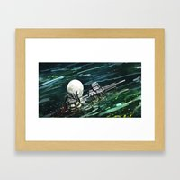 Water Recon Framed Art Print