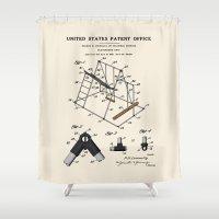 Playground Patent Shower Curtain