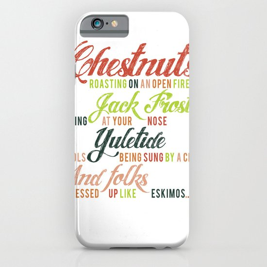 Christmas Song iPhone & iPod Case