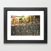 Wine Glasses For Sale. Framed Art Print