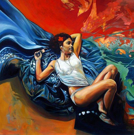 Yann Canvas Print