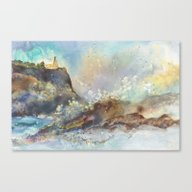 Canvas Print featuring The Splash At Split Rock by Sheltered Spirits