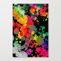 MultiBubbles Canvas Print