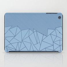 Ab Lines 45 Blues iPad Case