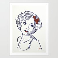1930's Actress Alice White  Art Print