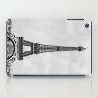Eiffel Tower In Greyscal… iPad Case