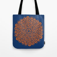Bugs Maze (orange) Tote Bag