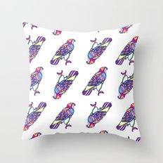 Love Hawk Throw Pillow