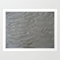Ripples In The Sand (one… Art Print