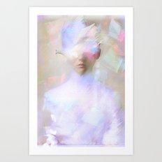 La femme surréaliste  Art Print
