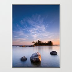 Bear Island morning Canvas Print