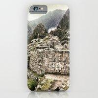 iPhone & iPod Case featuring Machu Picchu, Peru by Quyen Nguyen