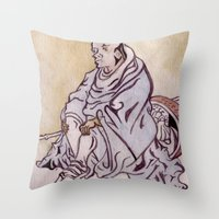 On A Journey Throw Pillow