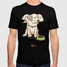 Cerberus Puppy SMALL Mens Fitted Tee Black