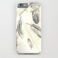 iPhone & iPod Case featuring Feathers by Drew Doherty