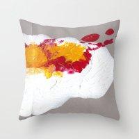 Paint:love 01 Throw Pillow