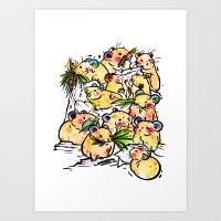 Pick Family Art Print