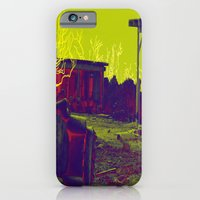 iPhone & iPod Case featuring Salton Sea Crosshairs by Icelandria