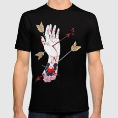 Love Me Mens Fitted Tee Black SMALL