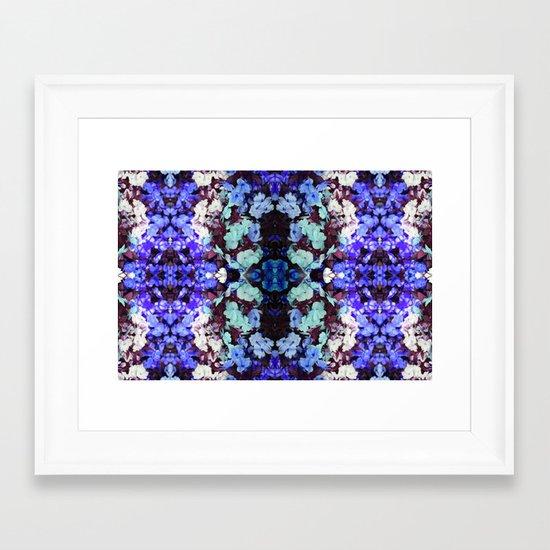 Future Floral III Framed Art Print