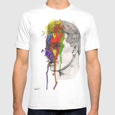 JackHarry Mens Fitted Tee White SMALL