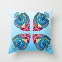 Oh That Fish Throw Pillow