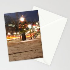 Downtown Blacksburg Christmas Stationery Cards