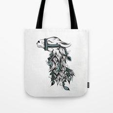 Poetic Llama  Tote Bag