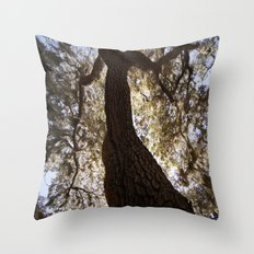 Looking Upwood 2 Throw Pillow