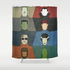 A Universal Horror Shower Curtain