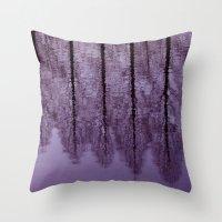 Water Trees - JUSTART © Throw Pillow