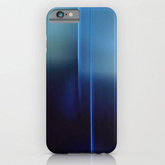 Farewell In Blue iPhone & iPod Case
