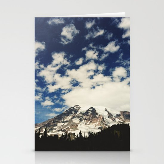 Mount Rainier: Captured on an iPhone Stationery Card