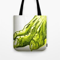 Dragon's Claw Tote Bag