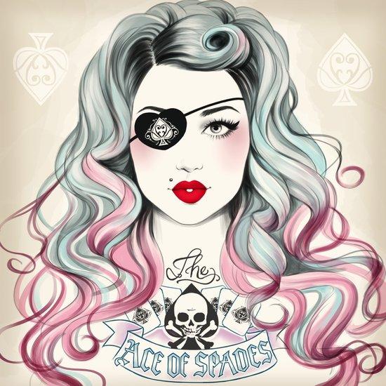 Ace of Spades Canvas Print