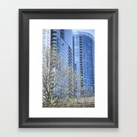 City Boy Framed Art Print