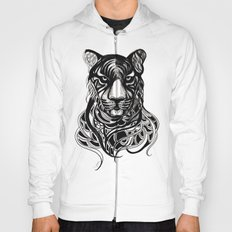Tiger - Original Drawing  Hoody