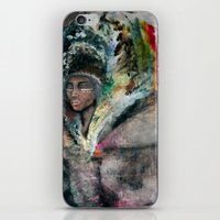 Warrior Portrait iPhone & iPod Skin