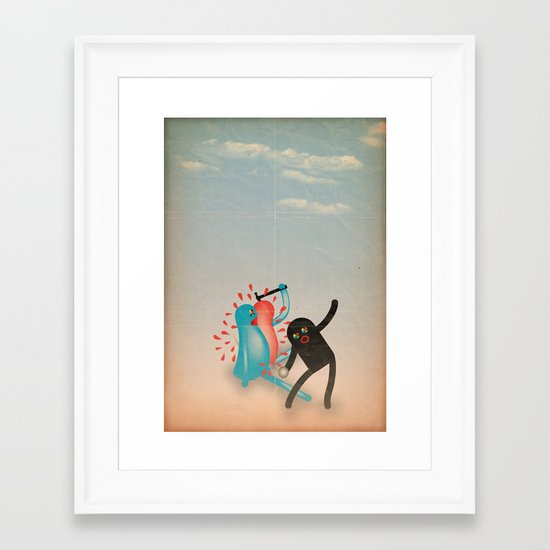 spaccato Framed Art Print