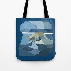 Artic Wolf Tote Bag