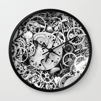 Bits of the work Wall Clock