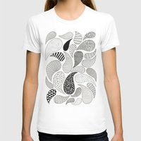 Paisley Womens Fitted Tee White SMALL